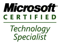 logo certication microsoft technology specialist de DEVENSYS